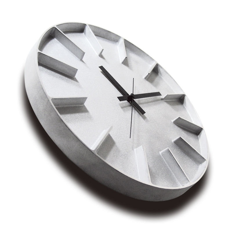 Edge Clock / ホワイト (AZ-0115 WH)