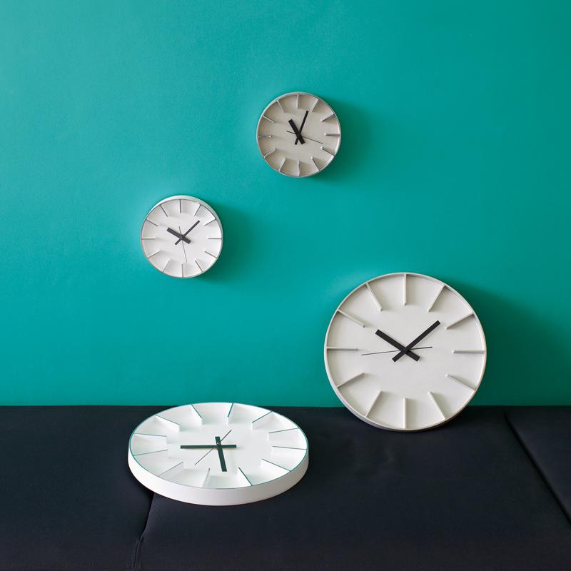 Edge Clock / アルミニウム (AZ-0116 AL)