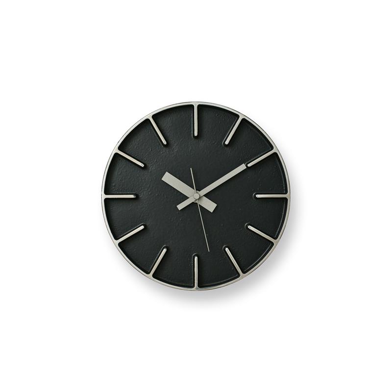 Edge Clock / ブラック (AZ-0116 BK)