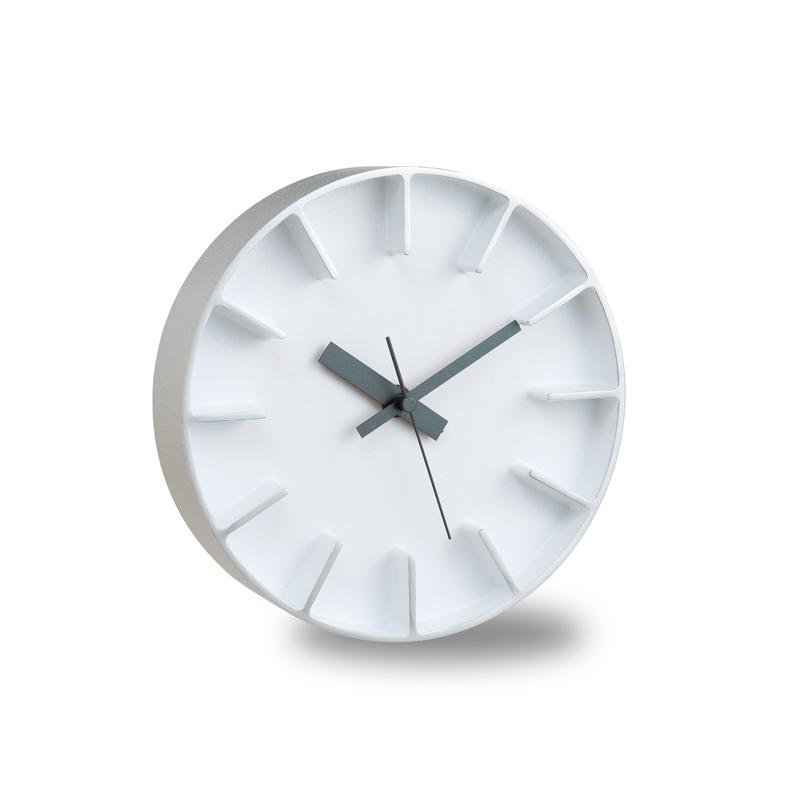 Edge Clock / ホワイト (AZ-0116 WH)
