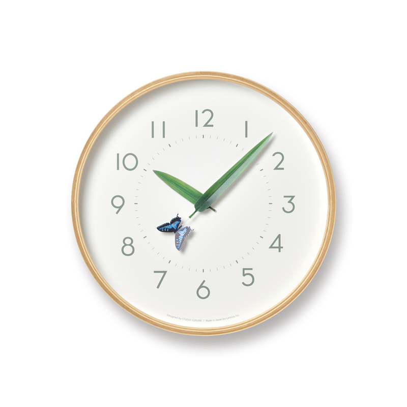 とまり木の時計 / アゲハ蝶 (SUR18-16 AGEHA)