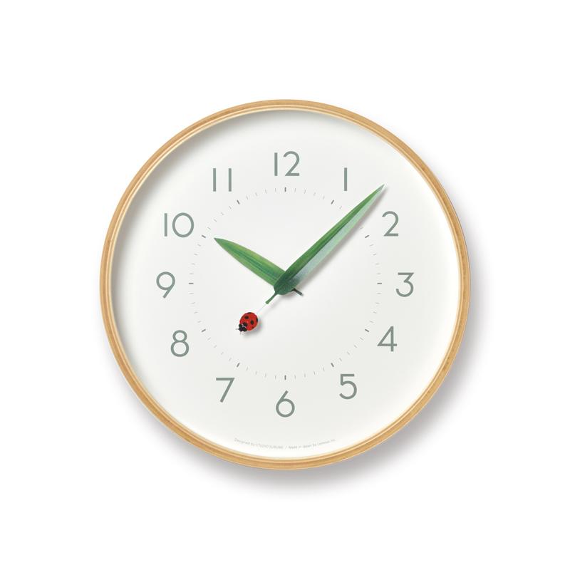 とまり木の時計 / てんとう虫 (SUR18-16 TENTO)