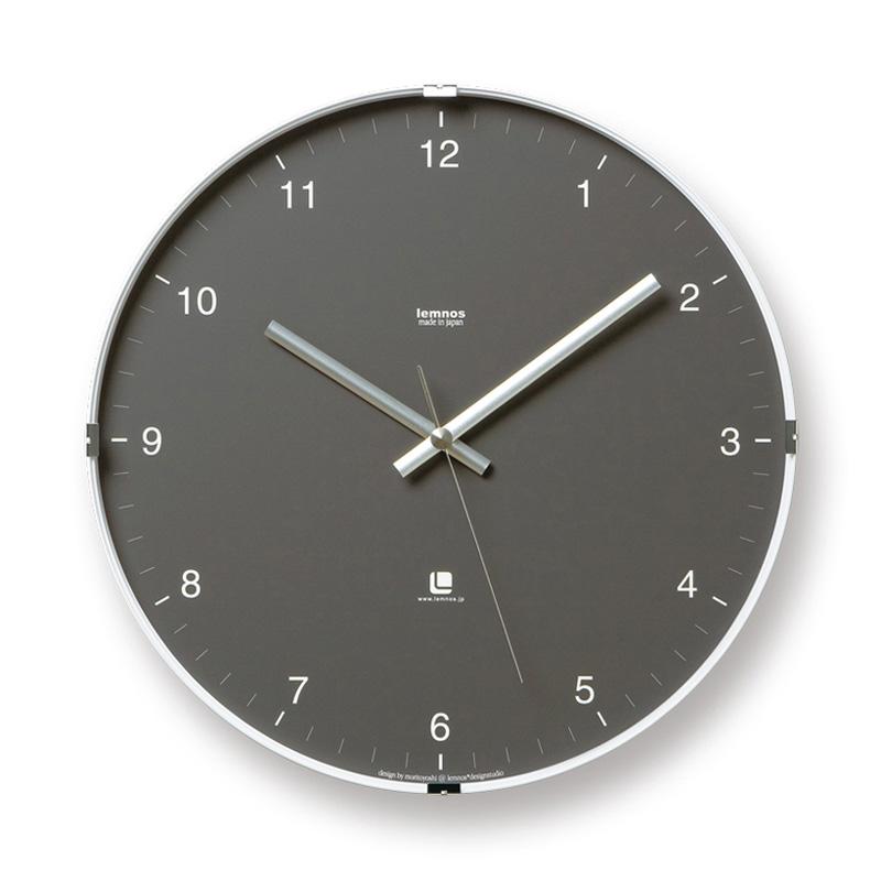 North clock / グレー (T1-0117 GY)