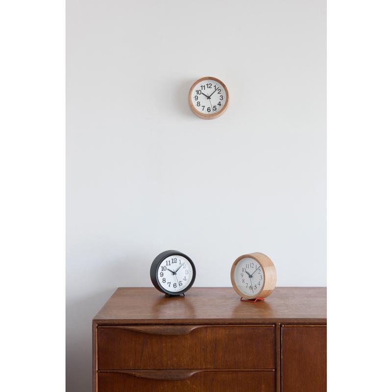 Clock B Small / ブラック (YK15-04 BK)