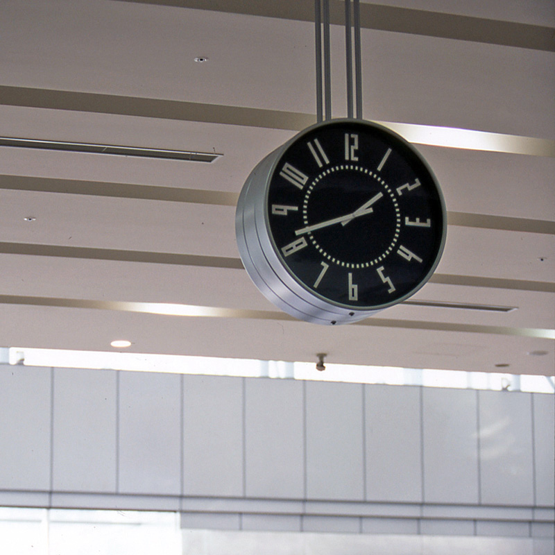 eki clock s / ホワイト (TIL19-08 WH)
