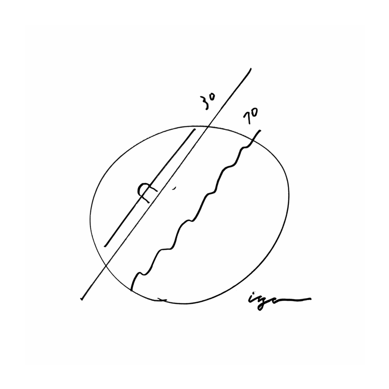 earth clock / ホワイト (TIL16-10 WH)