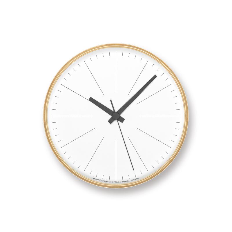 ラインの時計 PLY[電波時計]/ (YK18-17)