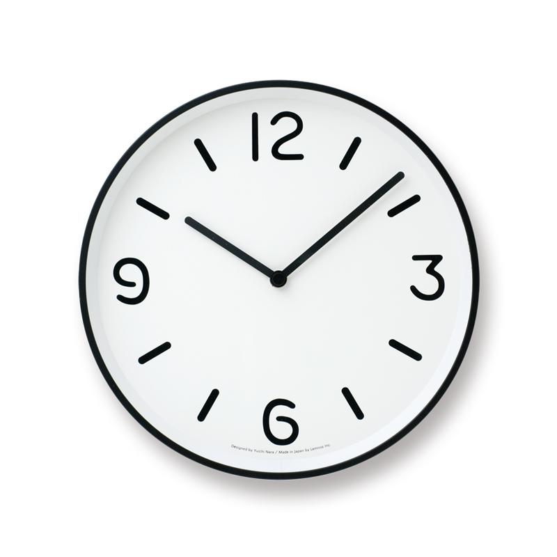 MONO Clock / ホワイト (LC10-20A WH)