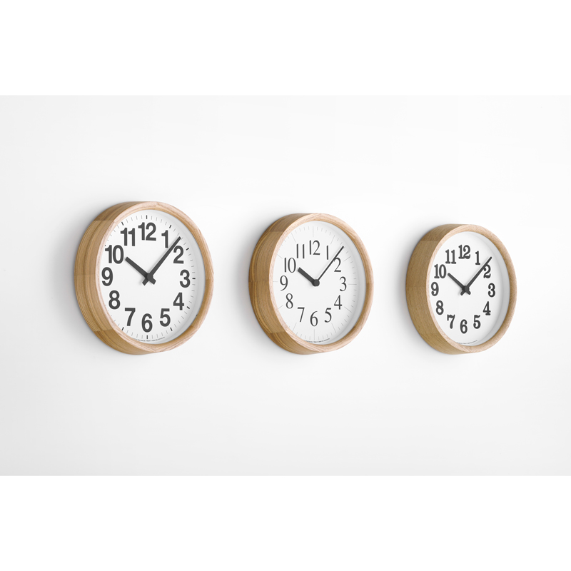 Clock A[電波時計]/ ナチュラル (YK19-13 NT)