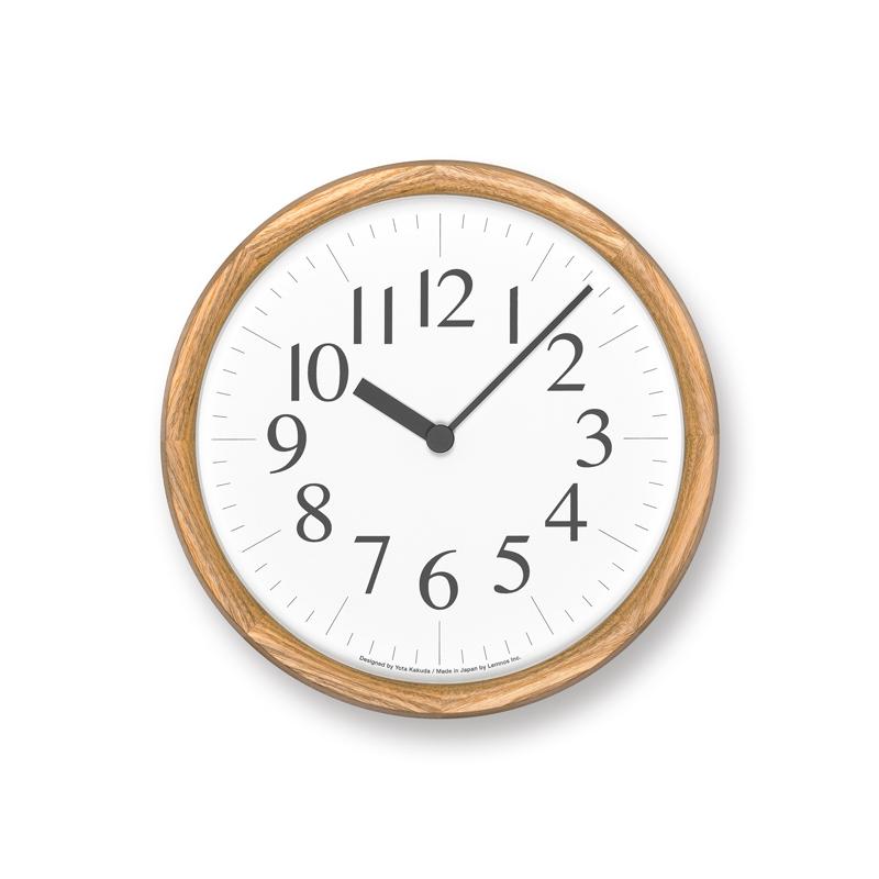 Clock B / ナチュラル (YK21-16 NT)