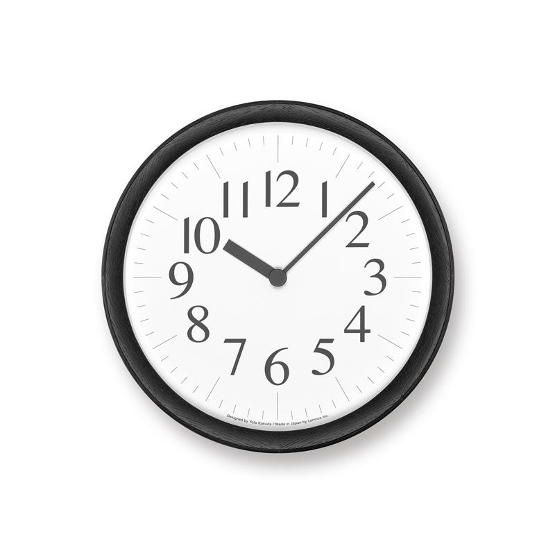 Clock B / ブラック (YK21-16 BK)