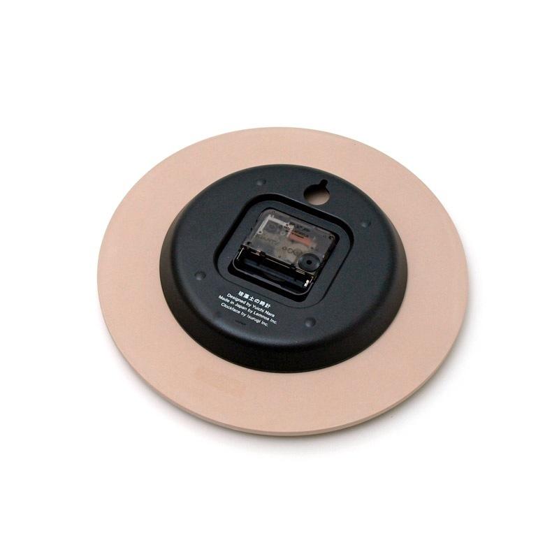 珪藻土の時計 / ピンク (LC11-08 PK)