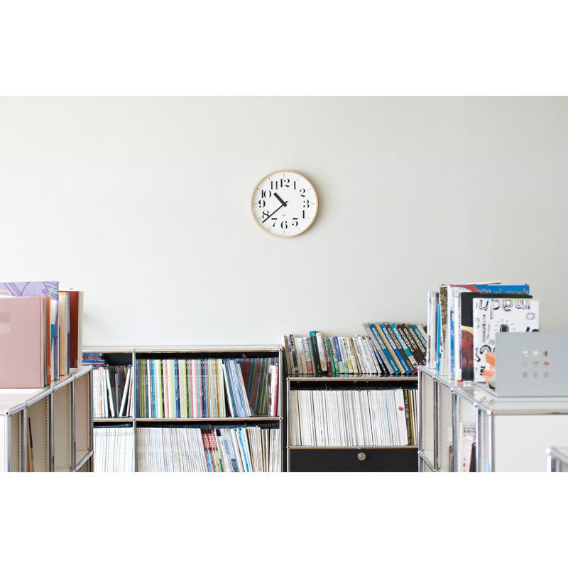 RIKI CLOCK RC[電波時計]/(WR20-01)