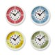 fun pun clock with color! / レッド (YD15-01 RE)