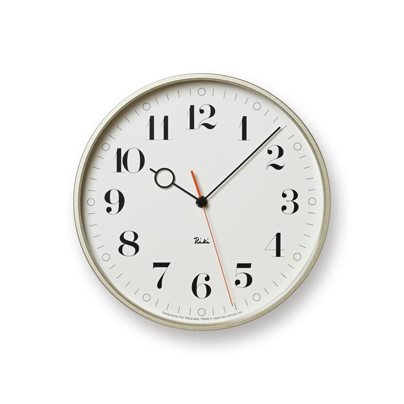 RIKI RING CLOCK / ホワイト (WR20-05 WH)