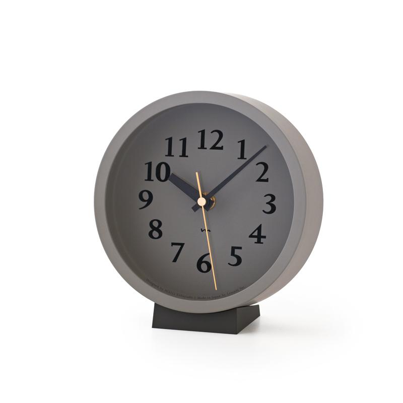 m clock[電波時計]/ グレー (MK14-04 GY)