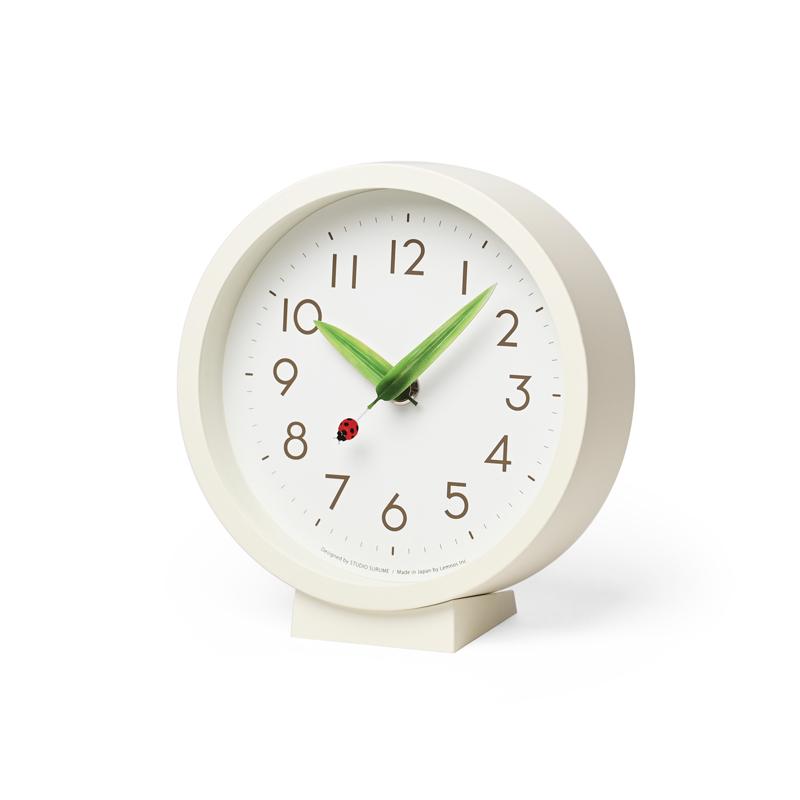 とまり木の時計 mini / てんとう虫(SUR20-06 TENTO)