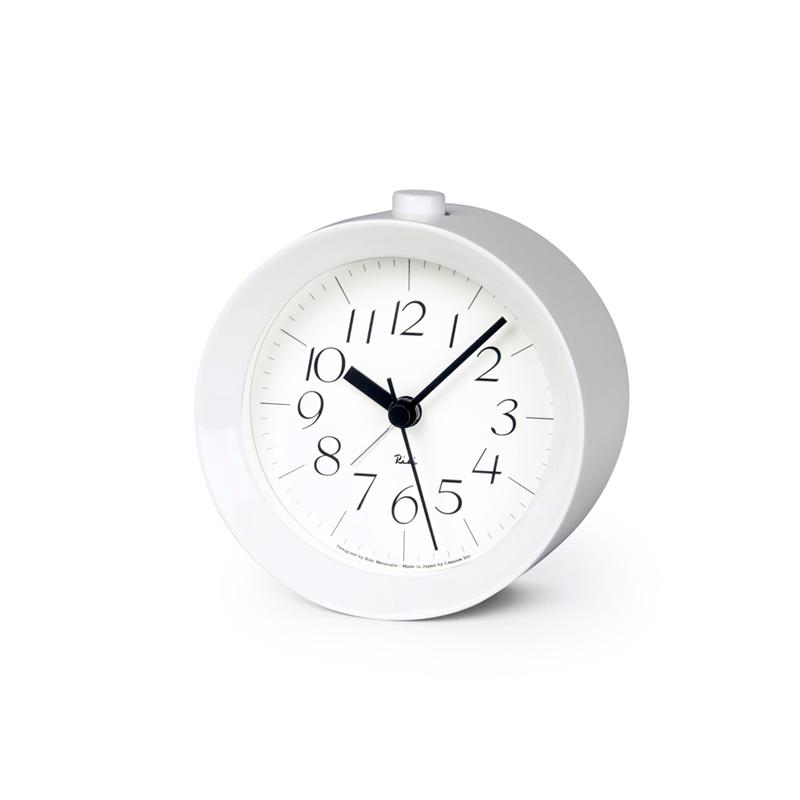 RIKI ALARM CLOCK [アラーム]/ ホワイト (WR09-14 WH)