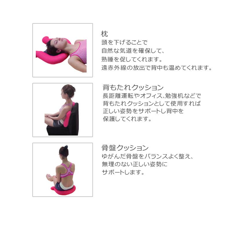 【美容グッズ】SSLJ Body Balance(L・ブラック)