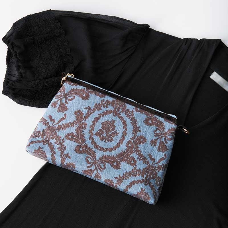ふくれ織りジャガード2Wayバッグ