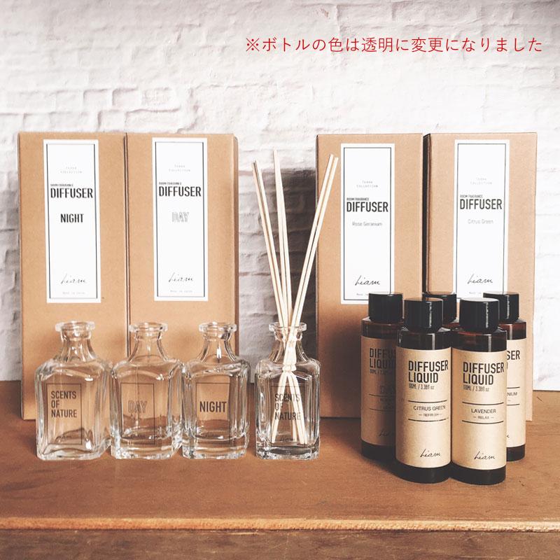 Liam TERRA(テラ) Room Fragrance Diffuser ルームフレグランスディフューザー DAY NIGHT セット