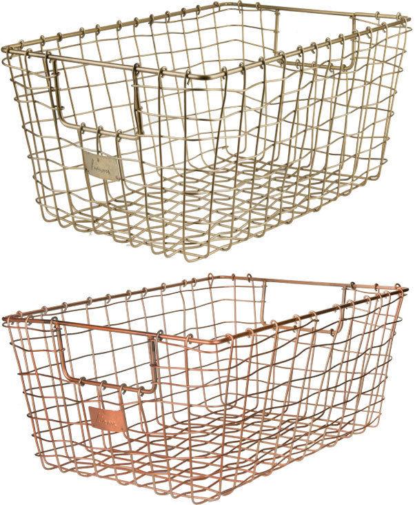◆アウトレット◆ Liam Wire Basket