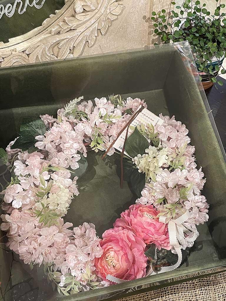 【紀尾井町店オリジナル商品】Spring Wreath -Sakura Pink-