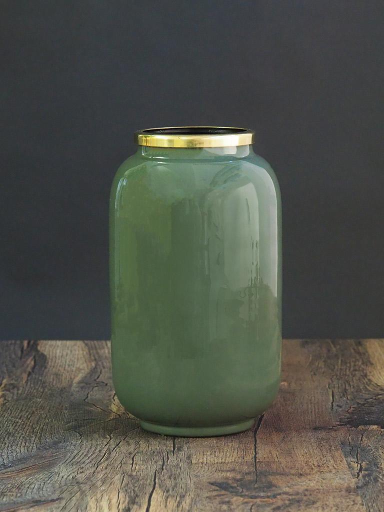【WAIBEL collection】フラワーベース -花瓶-|アンティークオリーヴ|数量限定