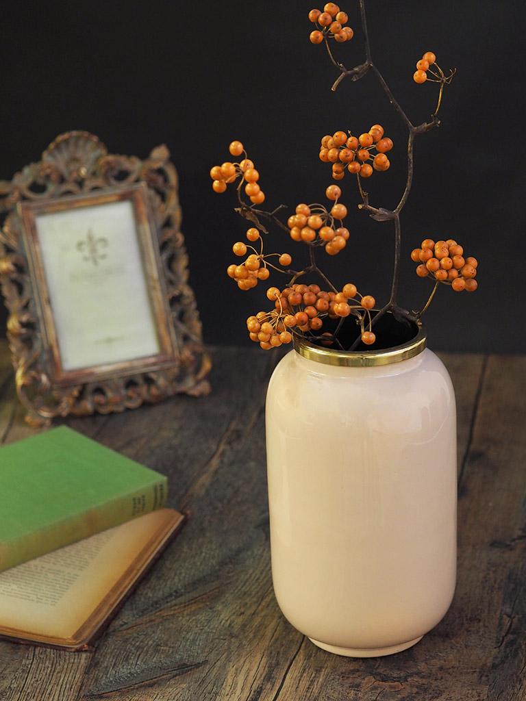 【WAIBEL collection】フラワーベース -花瓶-|ロゼ|数量限定