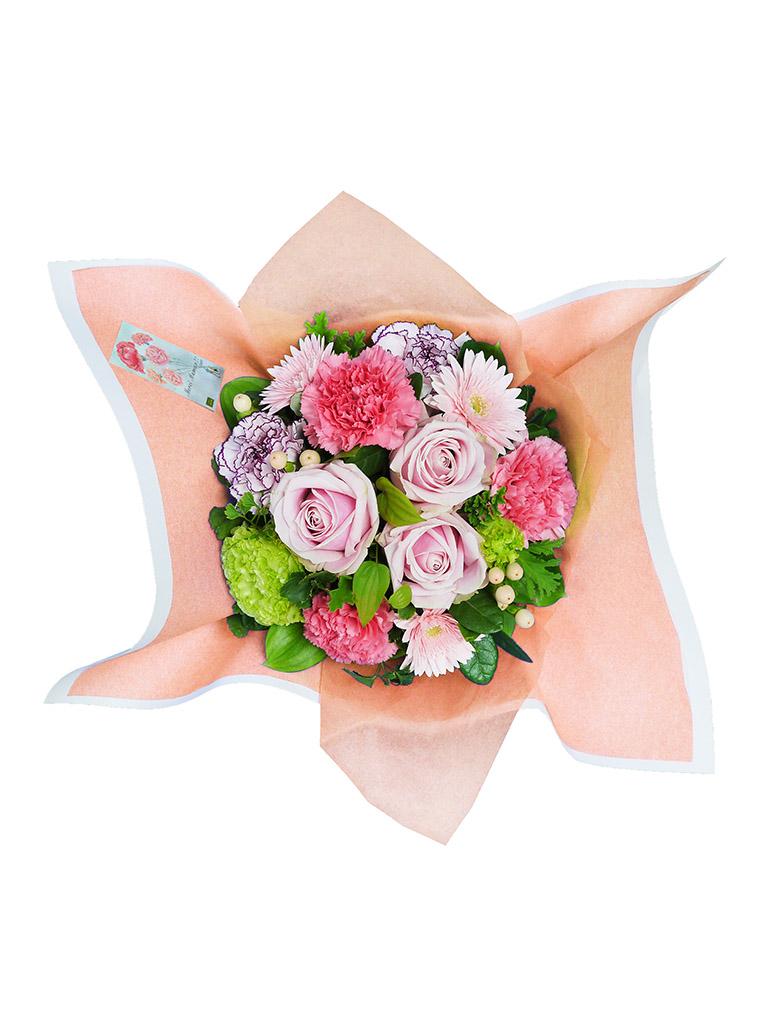 【母の日限定商品】トラディショナルアレンジメント [ピンク]|Mサイズ