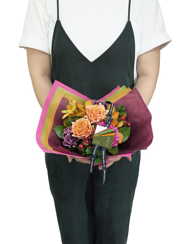 【敬老の日限定商品】KASANE フラワーアレンジメント