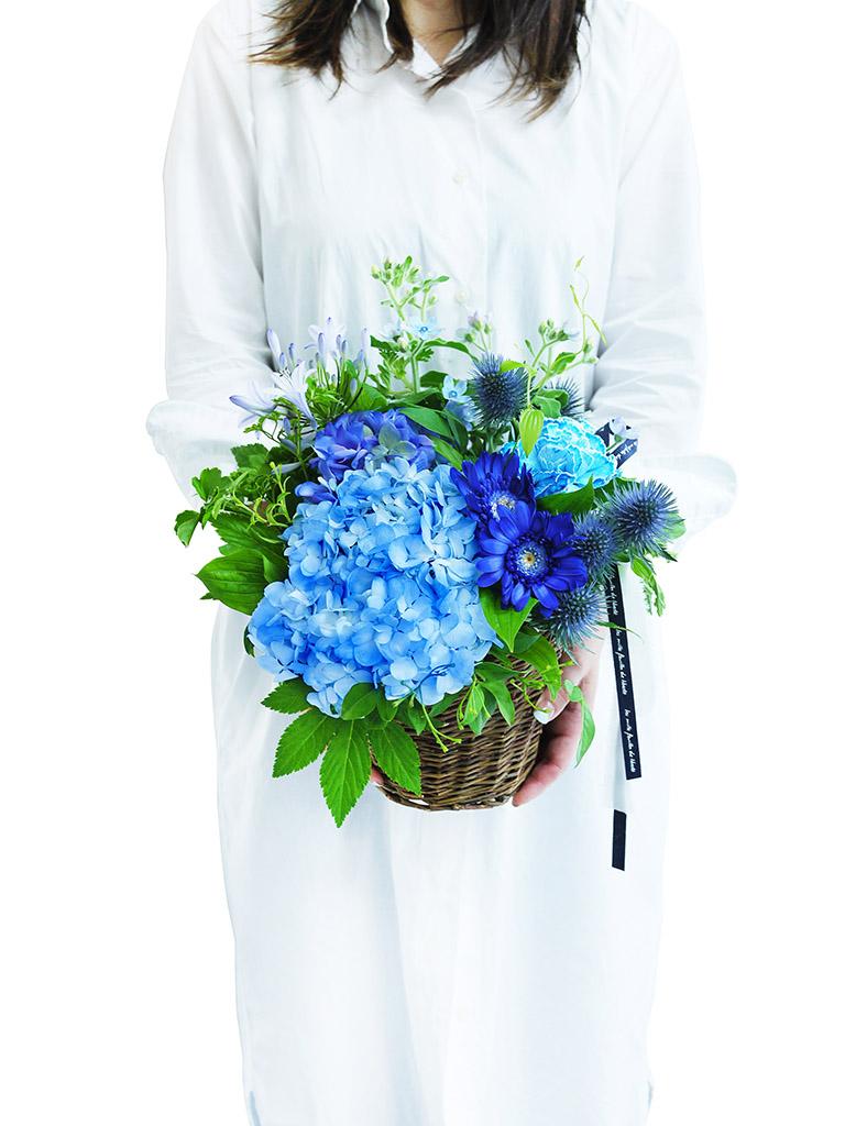 【2021年夏限定アレンジメント】Blue Blue -ブルーブルー-