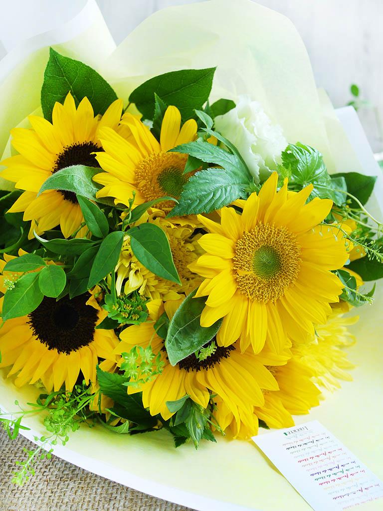 【2021年夏限定ブーケ】Bouquet d'ete -夏のブーケ-|Mサイズ|選べるラッピング