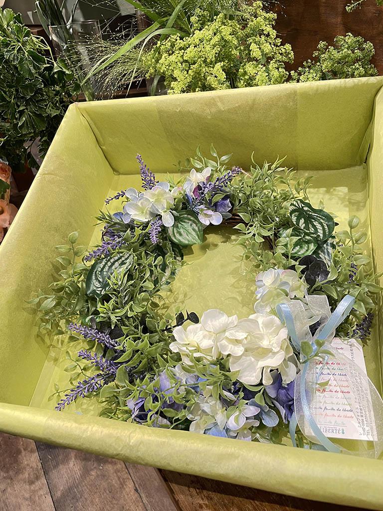 【紀尾井町店オリジナル商品】Summer Wreath -紫陽花-|数量限定