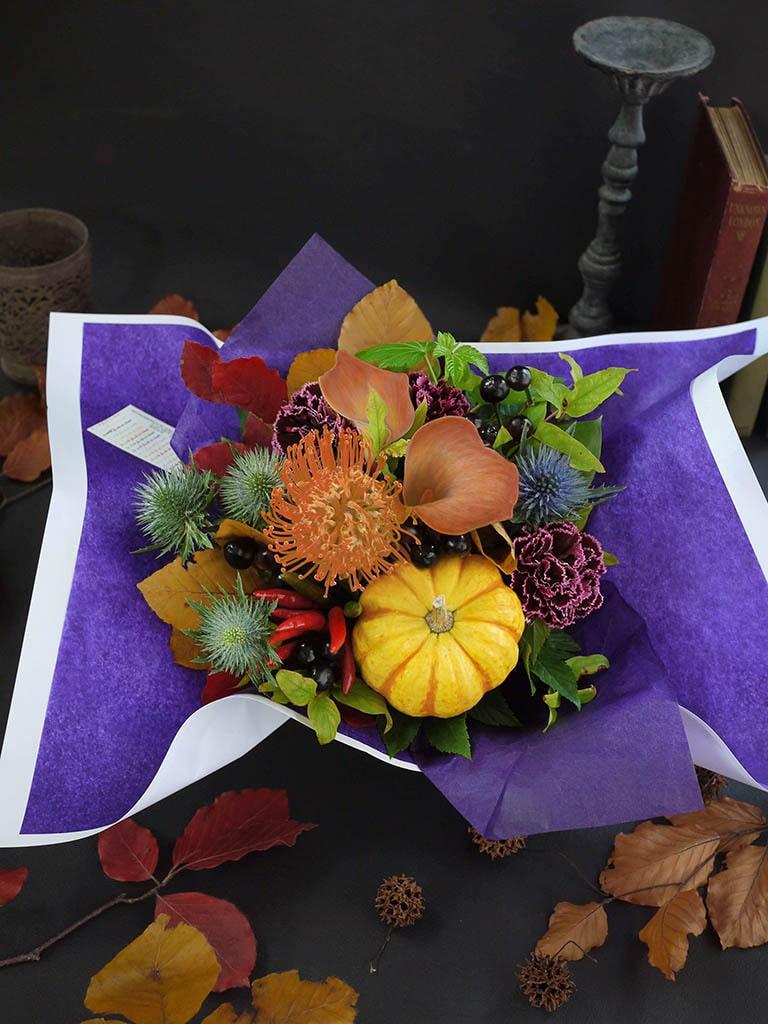 【10月限定アレンジメント】Halloween arrangement -ハロウィン アレンジメント- Mサイズ