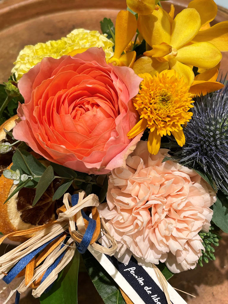 【グランスタ丸の内店オリジナル商品】mini orange -ミニオランジュ-|アレンジメント