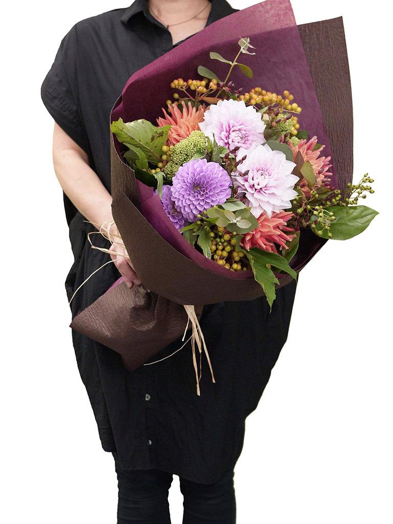 【9月・10月限定ブーケ】Bouquet d'automne -ブーケ ドオトンヌ-|Lサイズ