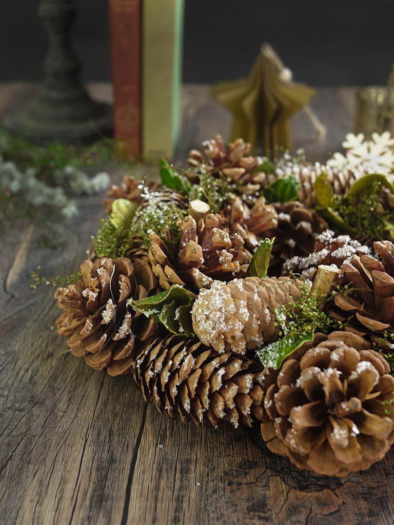 【クリスマス限定商品】クリスマスリース|ナチュラル