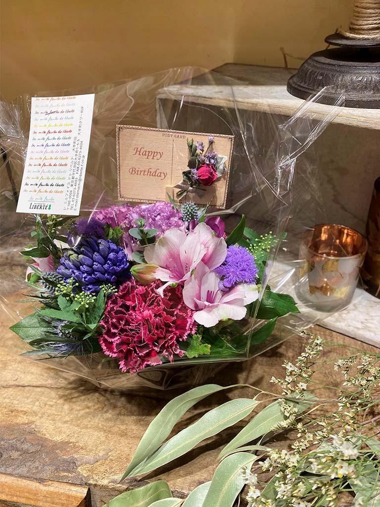 【大手町店オリジナル商品】Tout pour vous -トゥー・プル・ドゥー-|フラワーアレンジメント|選べる3色