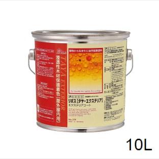 リボス タヤ 10L 自然塗料 室内用 屋外用 木部 オイル仕上げ タヤエクステリア No.279