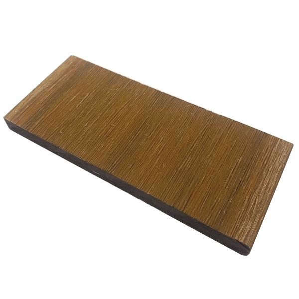 プラチナデッキ幕板/フェンス材(LIGHT BROWN)・デッキサンプル 10×120×50 【お一人様一点限り】