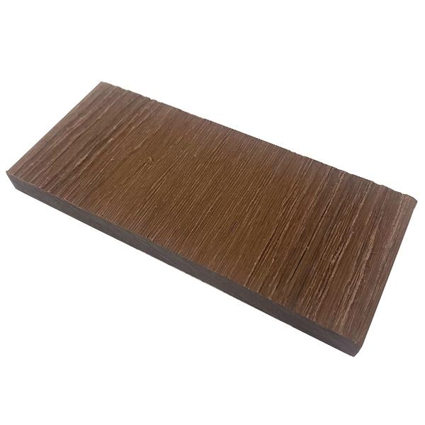 プラチナデッキ幕板/フェンス材(ROSE WOOD)・デッキサンプル10×120×50 【お一人様一点限り】