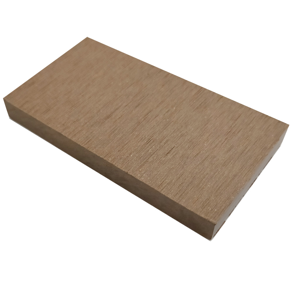 オーロラデッキ幕板/フェンス材(LIGHT BROWN)・デッキサンプル10×96×50 【お一人様一点限り】