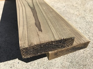 大日本ウッド 杉 タナリス防腐・30×150×4000(12.6kg)