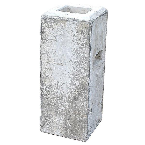フェンスブロック(大) 75〜90角支柱・柱が使用可能 (24.0kg)