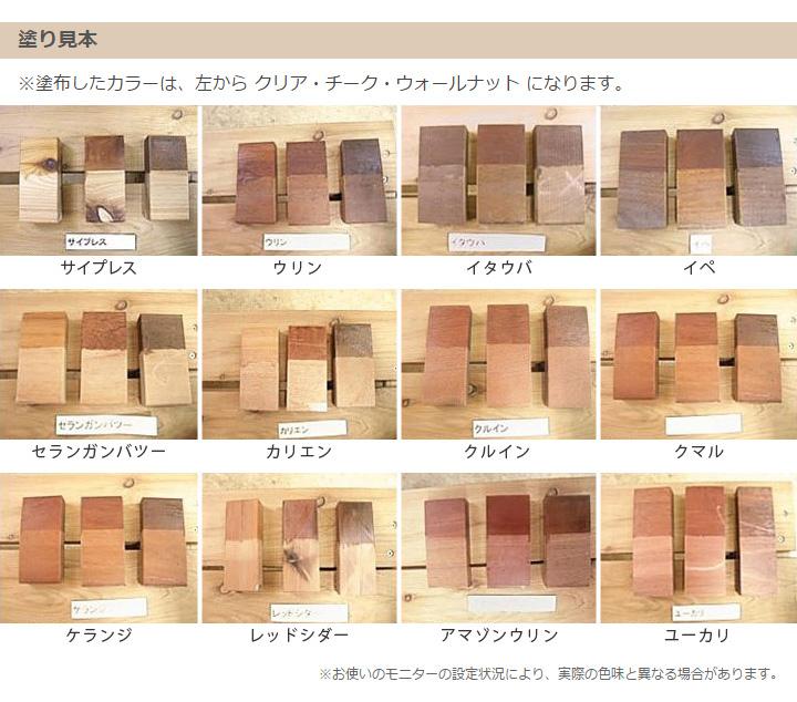 木材 保護塗料 ウッドステインプロ 16L チーク 【ウッドデッキ キット 木材 木部 防腐に】
