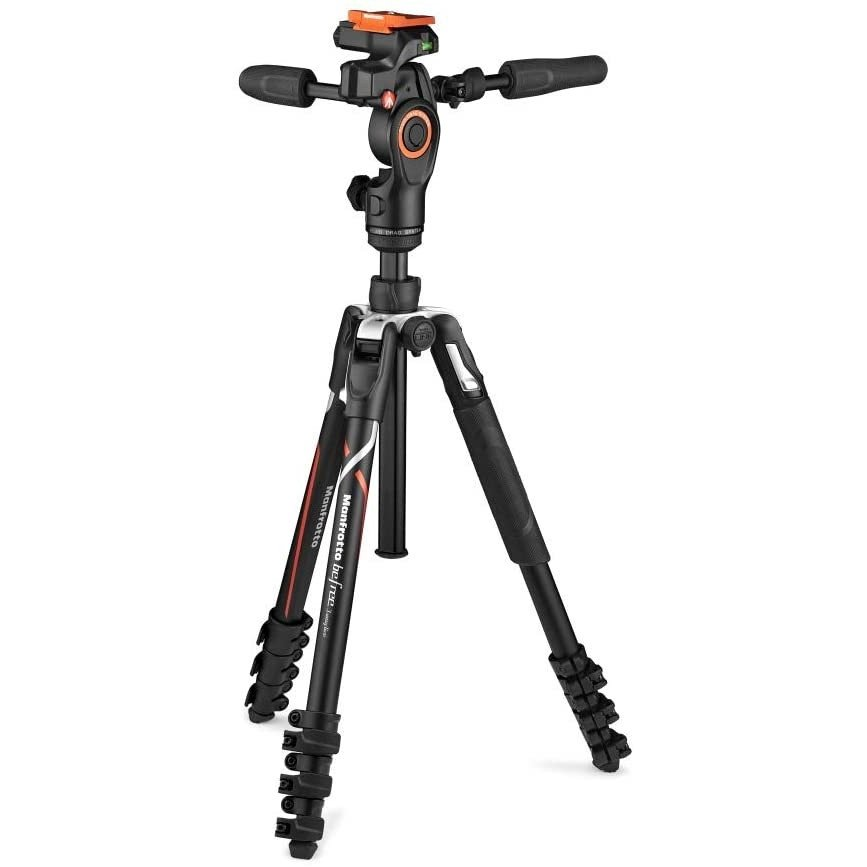 ソニー製α用モデル カメラ三脚 マンフロットManfrotto 3ウェイ雲台 MKBFRLA-3W