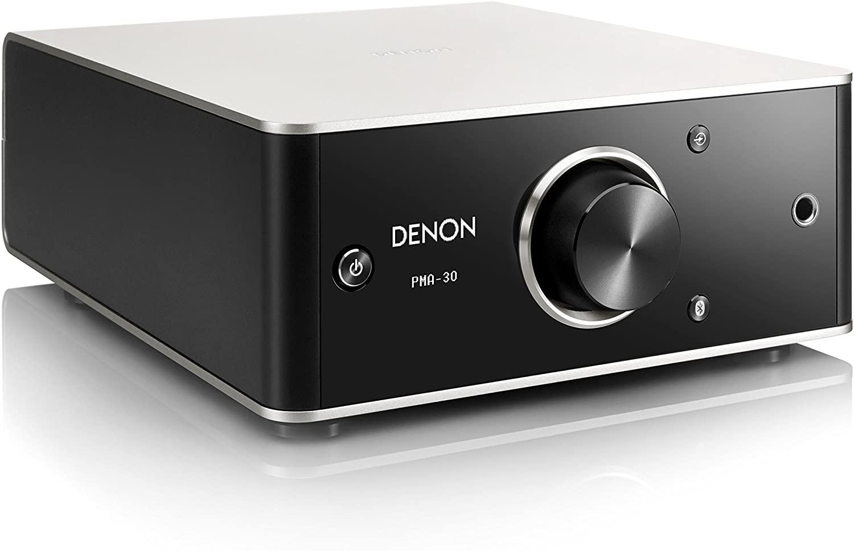 プリメインアンプ デノン Denon Bluetooth対応 ヘッドフォンアンプ搭載 プレミアムシルバー PMA-30 未使用品