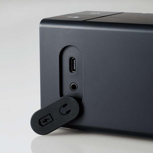 ワイヤレス手元スピーカー 2.4GHz ELECOM エレコム SP-TVWT01CBK 【新品】