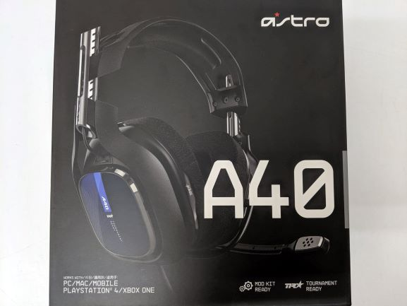 ゲーミングヘッドセット  ASTRO アストロ  A40TR01 【未使用品】